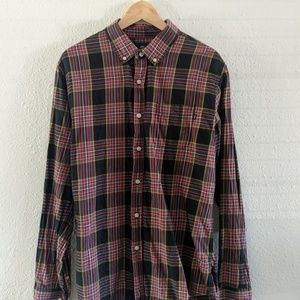 Obey button up shirt